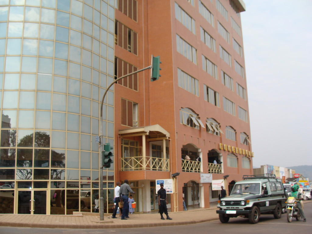 Buildings downtown Kigali
