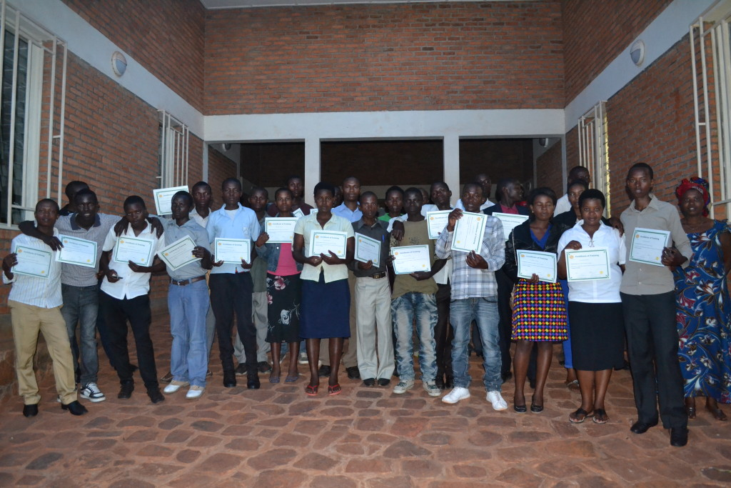 All ICT graduates taking memorial picture